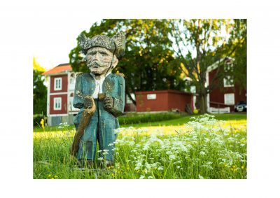 Fotograf Anja Callius tavelutställning på Lôkes Hälsingegård i Skästra, Järvsö