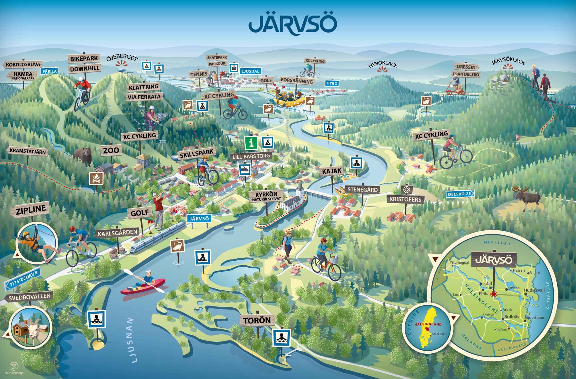Sommar i Järvsö - se alla aktiviteter